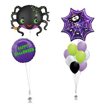 Web Spider Balloon Bouquet