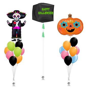 Grim Reaper And Pumpkin