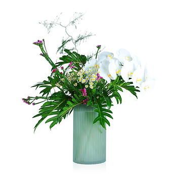 Alexandrine vase