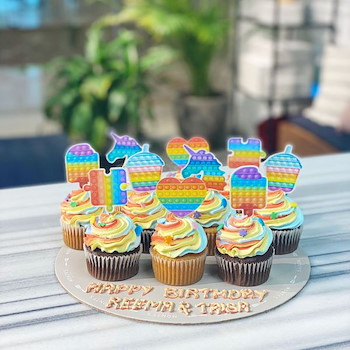 Pop It Cupcake