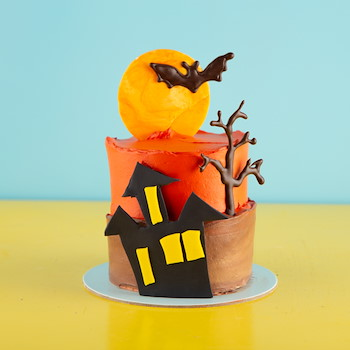 Mini Haunted Cake