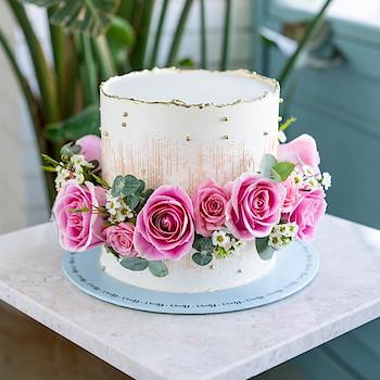 Golden Rose Cake II