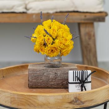 Yellow Celina Wood