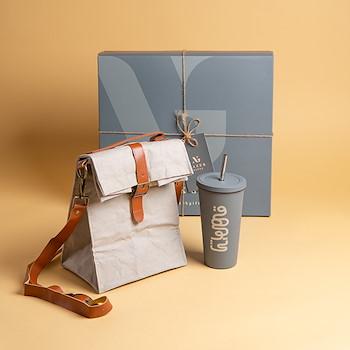 Lunch Bag Tumbler (Grey)