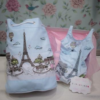 Paris Swimsuit & Bag 2