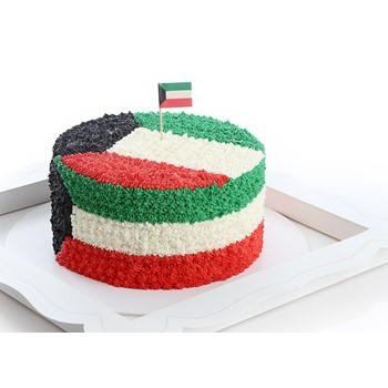 Kuwaiti Flag Cake