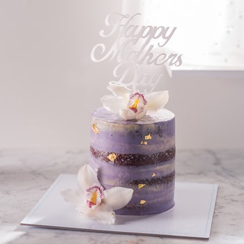 Mothers Day Orchid Cake