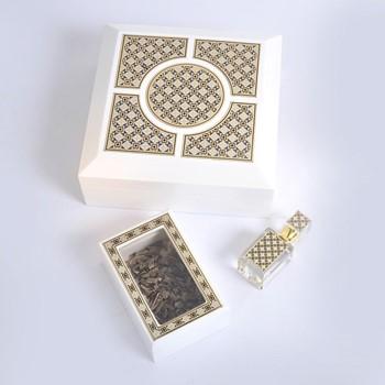 White Islamic Box IIII