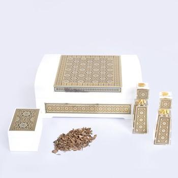 White Islamic Box VI