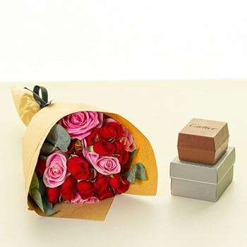 Red Box Bouquet
