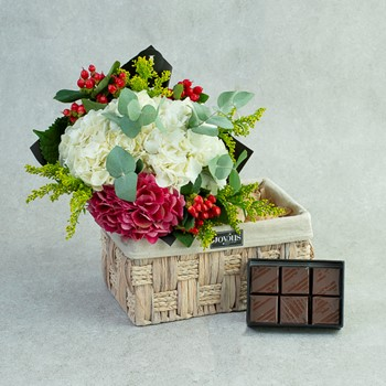 Flower Chocolate Basket