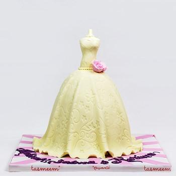 Bridal Dress Cake I