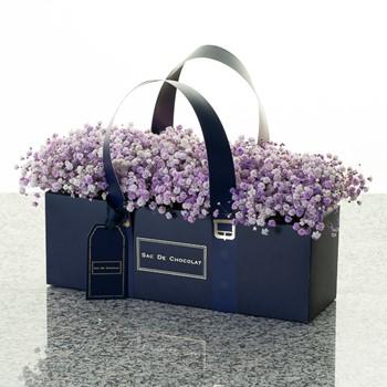 Royal Blue Bag 1