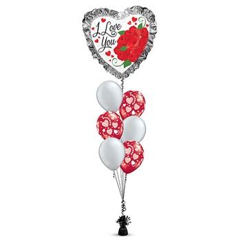 Heart Ruffle Bouquet