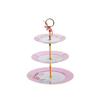 Bird And Floral Cake Stand