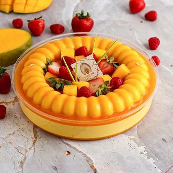 Mango Mousse Trifle