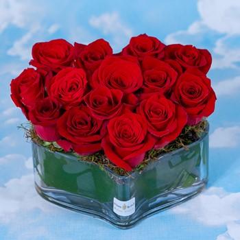 Love Heart Vase 1