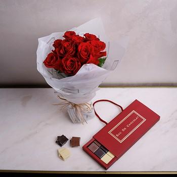 Red Tablet Bag