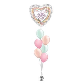 Heart Paisley Bouquet