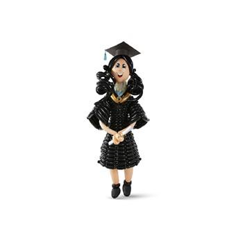 Girl Balloon Black